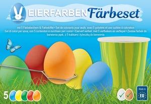 Teinture pour œufs de Pâques