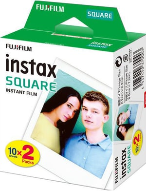 Instax Square Film 2x10 Sheets
