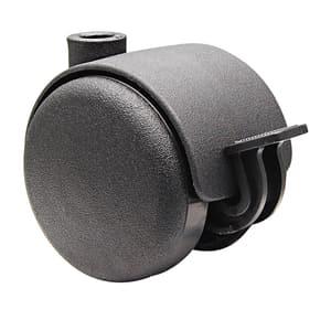 Möbel-Doppelrolle D50 mm feststellbar