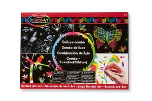Scratch Art Deluxe Combo Set  (F)