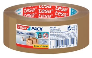 tesapack® ultra strong 66m:38mm braun