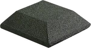 Elément de couverture de bordure vert 25x25cm