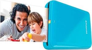 ZIP Mobiler Foto blau