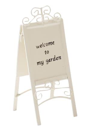 Cartello per giardino