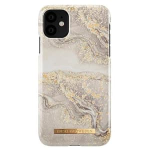 Hard-Cover Sparkle Greige Marble grey