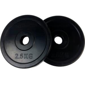 Gummiertes 2.5 kg Gewichtsscheibenpaar 30 mm