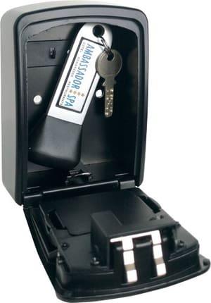 Schlüsseldepot mit Elektronik