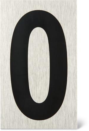 Placca porta numero 0