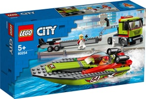 LEGO CITY 60254 Race Boat Transpo