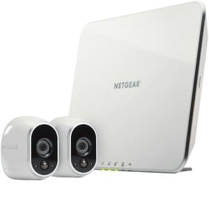 Sicherheitssystem mit 2 HD-Kameras