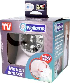 Vigilamp - Lampe mit Bewegungsmelder