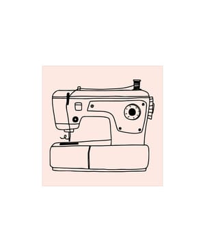 M&B Stamp, Machine à coudre