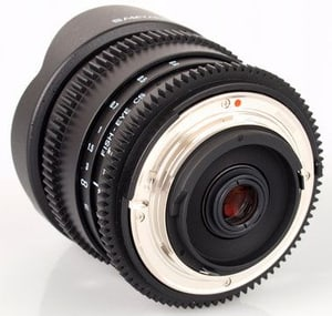 Samyang 8mm / 3.5 IF MC Fisheye CS II Ob