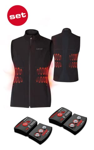 Lithium Pack rcB 1800 inkl. Heat Vest 1.0 Lady