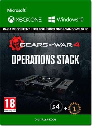 Xbox One - Gears of War 4: Operations Stack