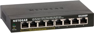 GS308P-100PES 8-Port GB PoE-Switch