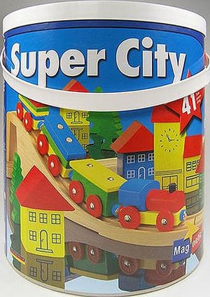 10/11 SUPER CITY 8 HOLZBAHN IN TROMMEL
