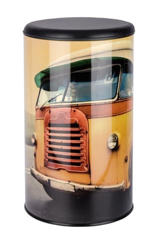 WENKO Coffre à linge Vintage Bus