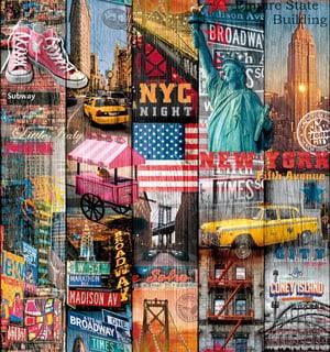 Pellicola adesiva Manhattan 45 x 200cm