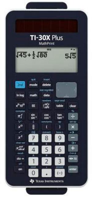Plus MathPrint Schulrechner TI-30X+MP