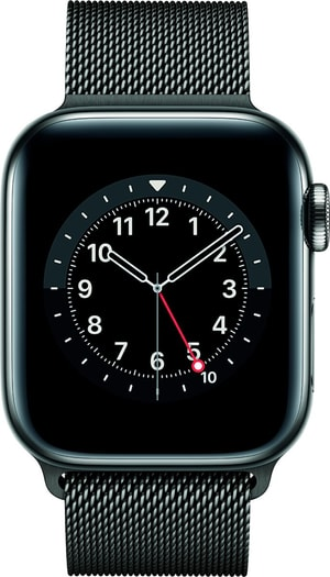 Watch Series 6 LTE 40mm Graphite Stainless Steel Graphite Milanese Loop