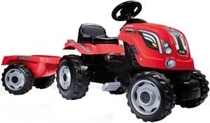 Trattore Farmer XL rosso + Remorchio