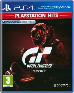 PS4 - PlayStation Hits: Gran Turismo Sport