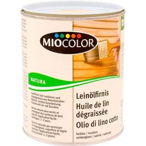 Natura Huile de lin dégraissée Incolore 750 ml