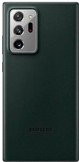 Leather Cover Note 20 Ultra black