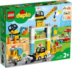 Duplo 10933 La grue et les engins de construction