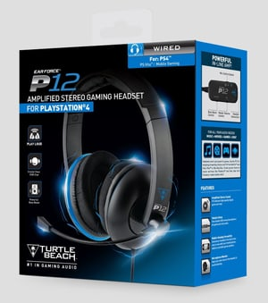 Headset Ear Force P12 Stereo pour PS4