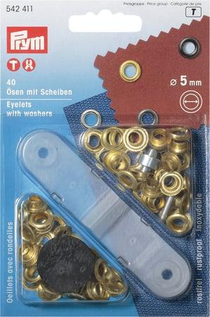 Occhielli con rondelle Ø 5mm