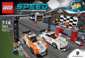 Speed Champions La ligne d'arrivée de la Porsche 911 GT 75912