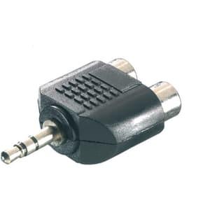 Adapter 3,5 mm Klinke / 2xCinch