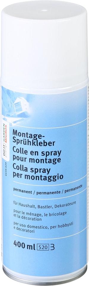 Montage-Sprühkleber permanent 400 ml