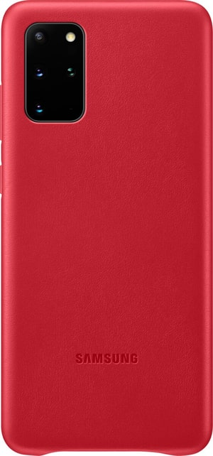 Hard-Cover Leather red