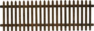 Steccato a palizzata
