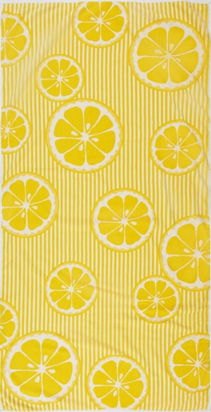 Strandtuch Lemon