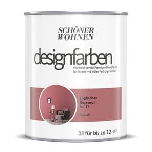 Designfarbe Rosenrot 1 l