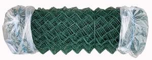 Zaun Diagonalgeflecht grün
