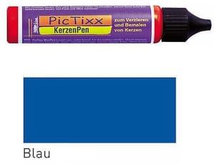 Pen pour bougies bleu