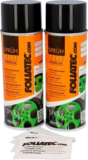 Pellic.Spray verde luci. 400ml 2pz