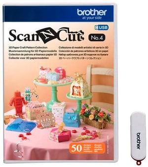 Design ScanNCut Nr. 4 modèles en papier