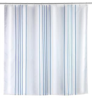 Tenda doccia Linen blu