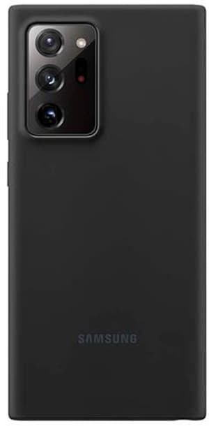 Silicone Cover Note 20 Ultra black