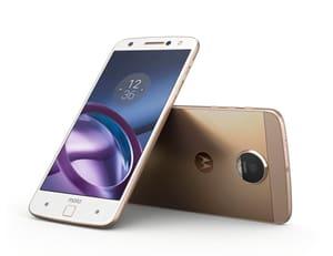 Motorola Moto Z gold Smartphone