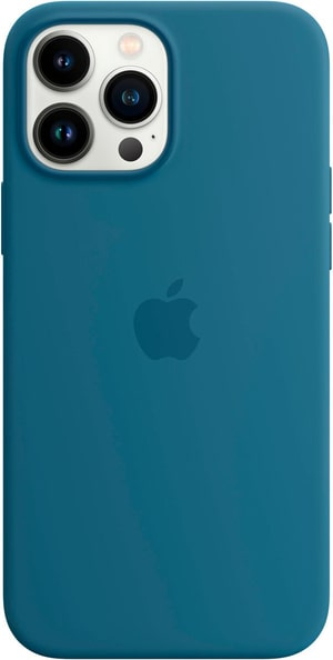 iPhone 13 Pro Max Silicone Case with MagSafe – Blue Jay