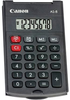 Taschenrechner CA-AS8 8-stellig