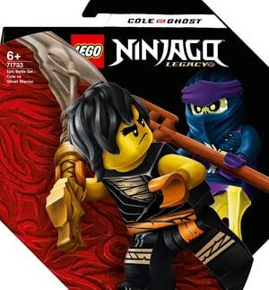 NINJAGO 71733 Set de bataille épique - Cole contre le