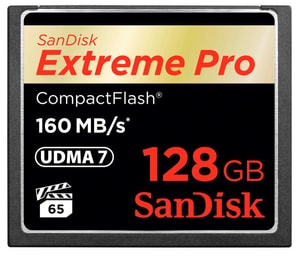 ExtremePro 160MB/s Compact Flash 128GB